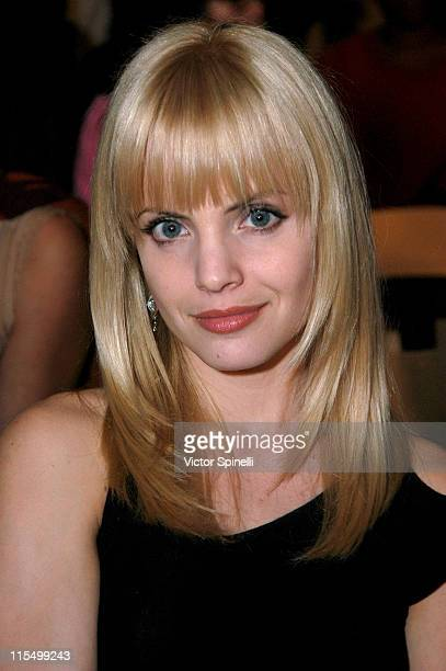 Mena Suvari during Gen Art's 6th Fresh Faces in Fashion Show at Historic Gas Company Lofts in Los Angeles California United States