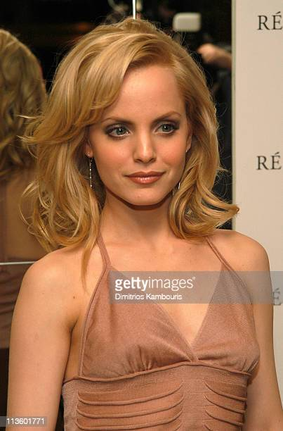 Mena Suvari during Lancome Paris Launch of Resolution at Bar Seine in New York City New York United States
