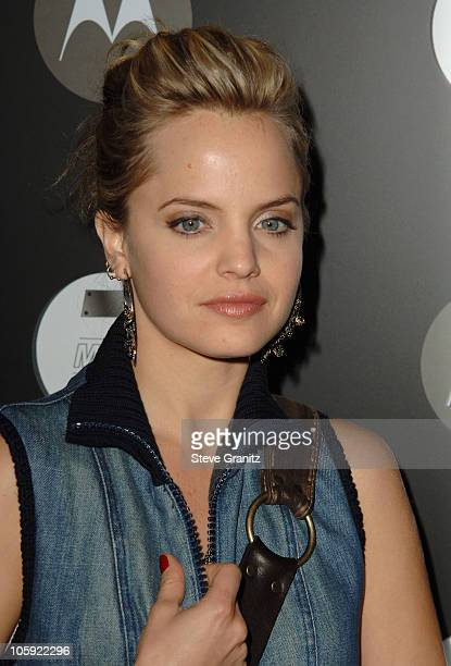 Mena Suvari during Motorola's Seventh Anniversary Party to Benefit Toys for Tots Arrivals at American Legion Hall in Los Angeles California United...