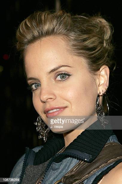 Mena Suvari during Motorola's Seventh Anniversary Party to Benefit Toys for Tots Red Carpet at American Legion in Los Angeles California United States