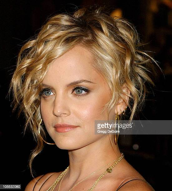 Mena Suvari during New Line Cinema's Domino Los Angeles Premiere Arrivals at Grauman's Chinese Theatre in Hollywood California United States