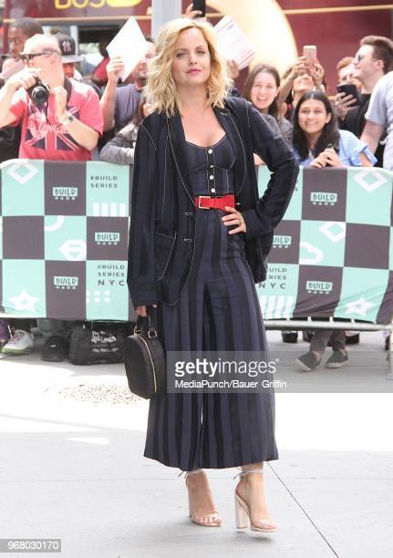 Mena Suvari is seen on June 05 2018 in New York City