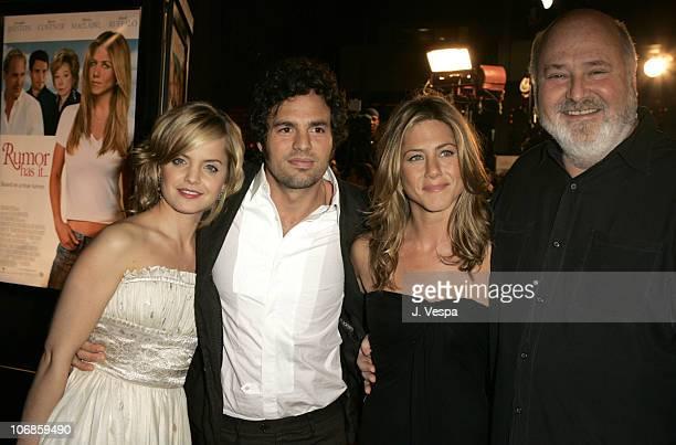 Mena Suvari Mark Ruffalo Jennifer Aniston and Rob Reiner