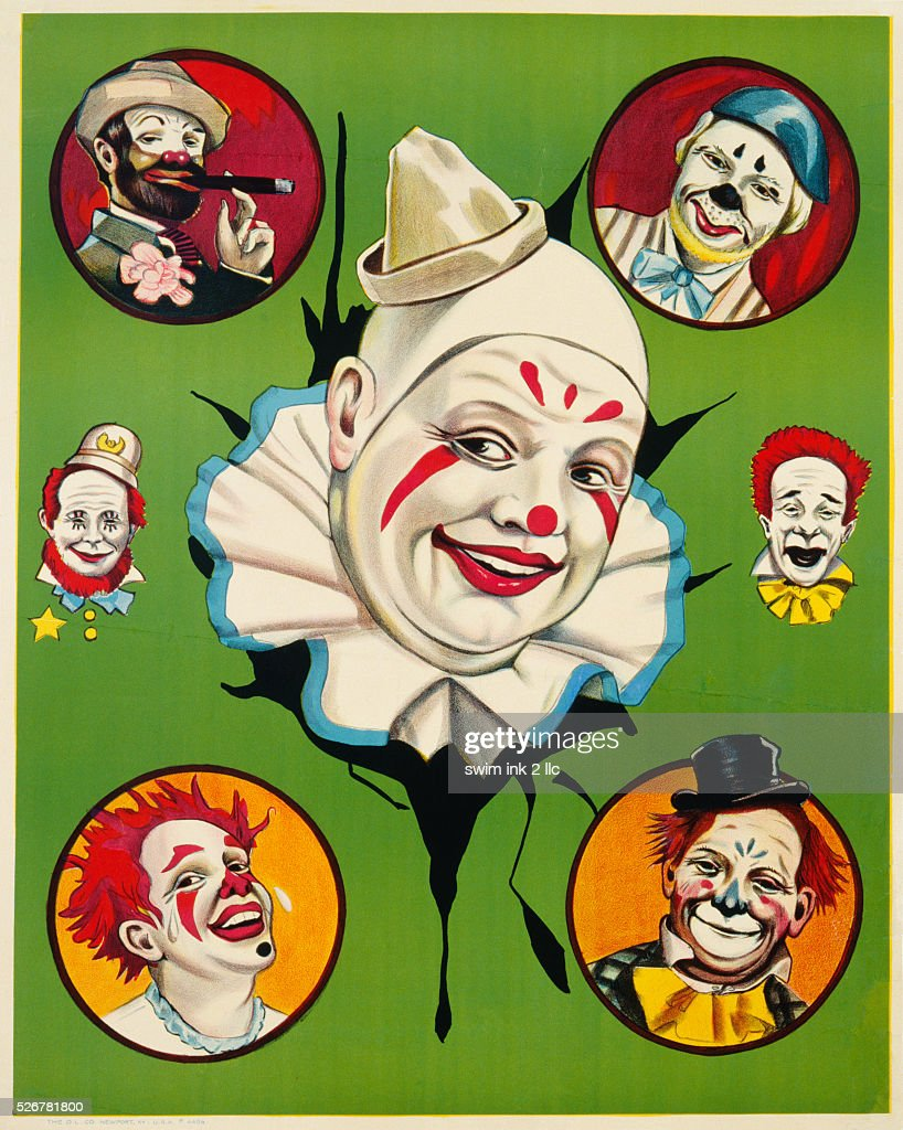 Menage of Clowns Poster