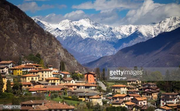 Menaggio, Italy in Winter