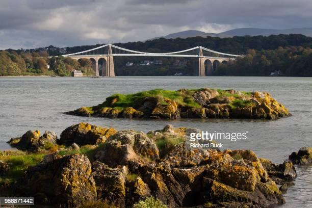 menai bridge - menai bridge - fotografias e filmes do acervo
