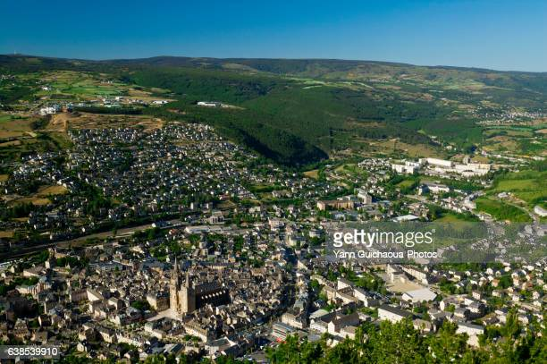mende, lozere, languedoc roussillon, france - mende stock pictures, royalty-free photos & images