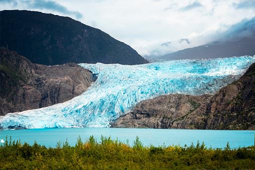 Mendenhall glacier national park, Juneau, Alaska, USA 861007518