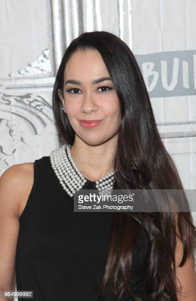 Mendez attends Build Series to discuss her new book 'Crazy Is My Superpower' at Build Studio on April 4 2017 in New York City