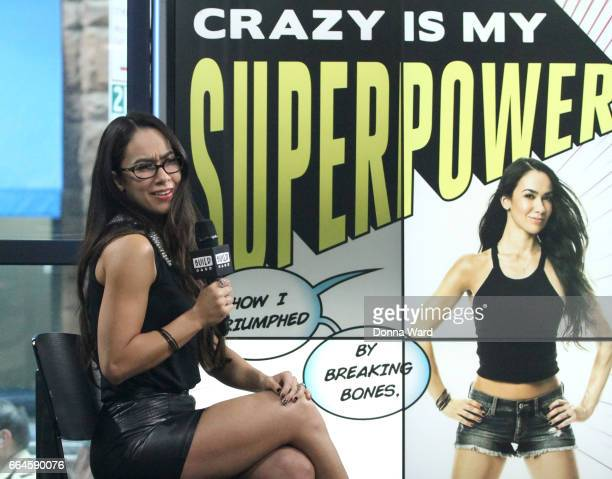 Mendez Brooks appears to promote 'Crazy Is My Superpower' during the BUILD Series at Build Studio on April 4 2017 in New York City