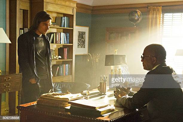 THE MAGICIANS Mendings Major and Minor Episode 105 Pictured Jason Ralph as Quentin Rick Worthy as Dean Fogg