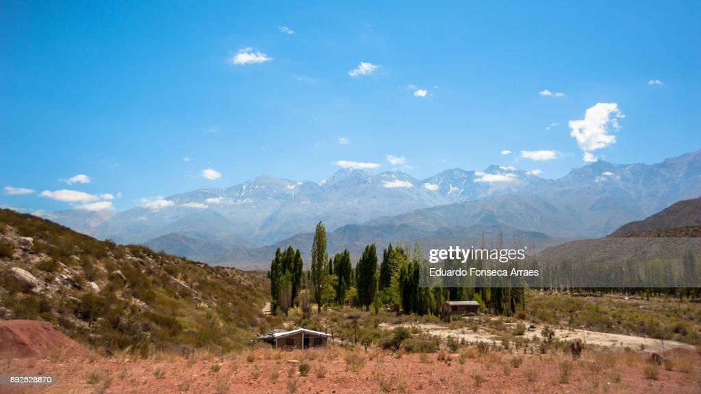 Mendoza Landscape : Stock Photo