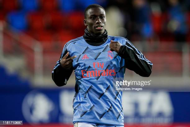 Mendy of Real Madrid during the La Liga Santander match between Eibar v Real Madrid at the Estadio Municipal de Ipurua on November 9 2019 in Eibar...