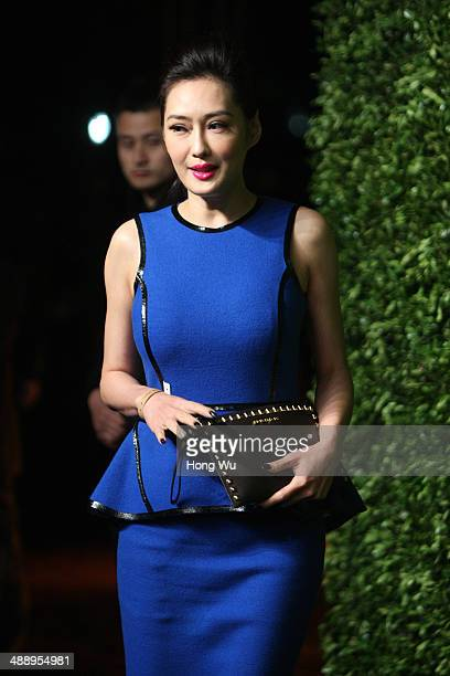 Meng Guangmei attends the Michael Kors Jet Set Experience on May 9 2014 in Shanghai China