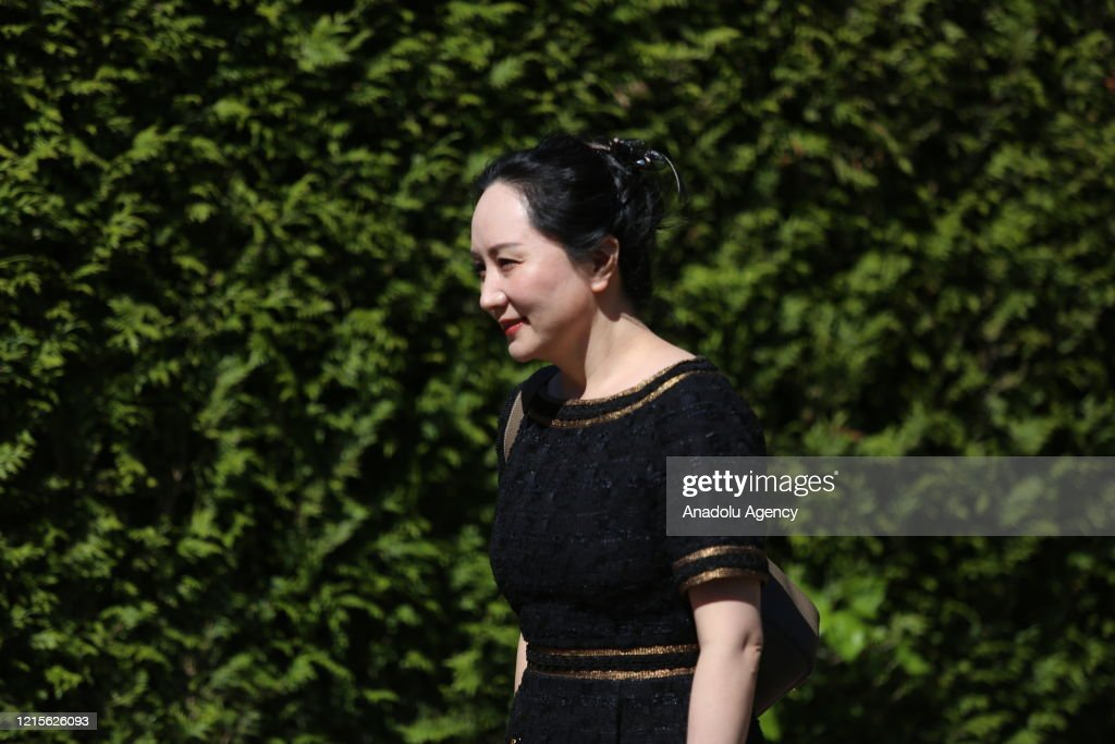 Canadian Court Delivers Ruling On Huawei's Meng Wanzhou : News Photo