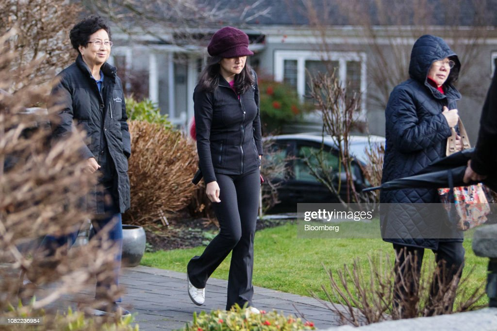 Huawei Chief Financial OfficerMeng Wanzhou Out On Bail : News Photo