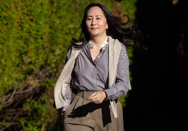 CAN: Huawei CFO Meng Wanzhou Returns To Court