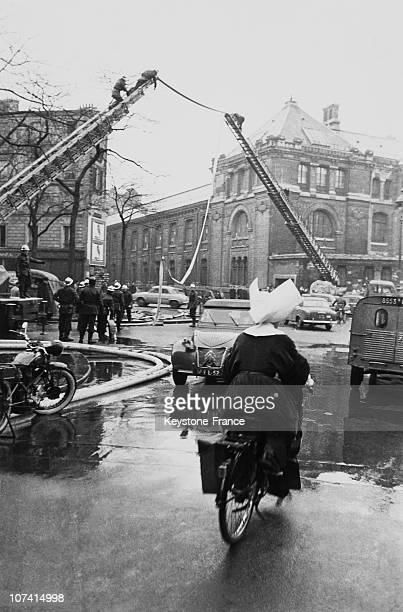 Menilmontant Fire On March 1958 In Paris