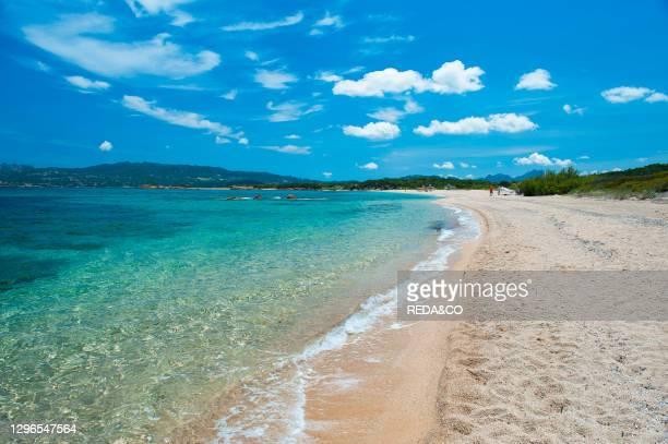 Mennena Beach. Arzachena. Sardinia. Italy. Europe.