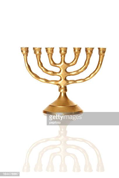 menorah - candlestick holder stock pictures, royalty-free photos & images