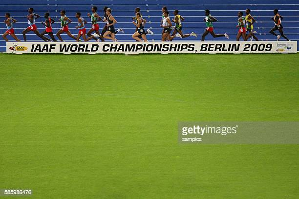 Men's 10000 meter final during the 2009 IAAF World Championships at the Olympic Stadium in Berlin Germany