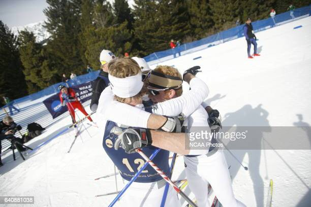 07 MAR 2008 Men's 20k classic as part of the Men's and Women's Skiing Championships held at Bohart Ranch Cross Country Ski Center in Bozeman MT Sean...