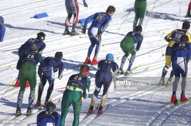 Men's 20k classic during the Men's and Women's Skiing Championships held at Bohart Ranch Cross Country Ski Center in Bozeman MT Sean Sperry/NCAA...