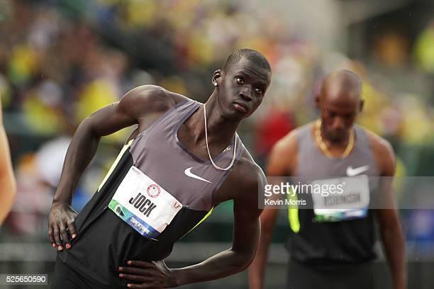 Men's 800 meters, Charles Jock before start