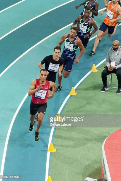 Men's 800m during the World Athletics Indoor Tour at Arena Stade Couvert on February 9, 2021 in Lievin, France.