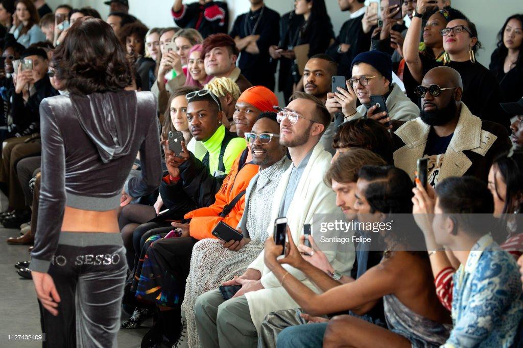 Seen Around New York Fashion Week: Men's : News Photo