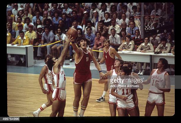 OLYMPICS Men's Basketball The 1976 Summer Olympic Games aired on the ABC Television Network from July 17 to August 1 1976 Shoot Date July 21 1976...