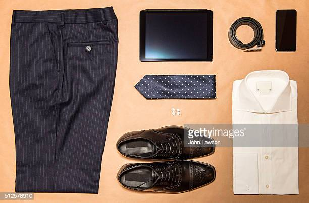 Men's business clothing