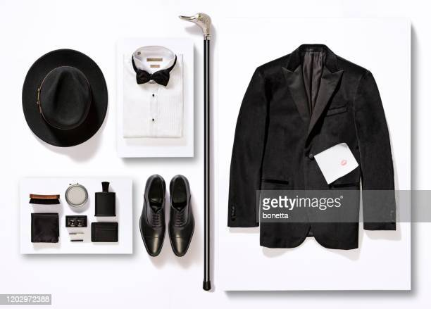 men's clothing and personal accessories - menswear stock pictures, royalty-free photos & images