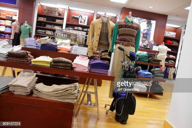 Men's clothing for sale in Bloomingdale's