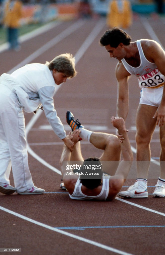 Men's Decathlon Competition At The 1984 Summer Olympics : Foto di attualità