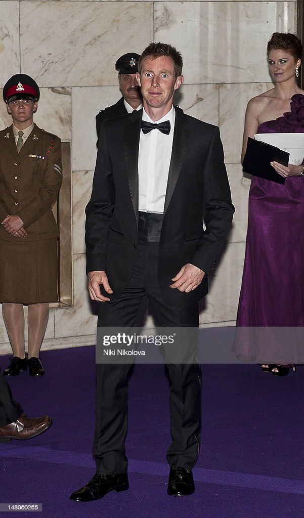 Men's Doubles Champion Jonathan Marray of Great Britain attends the Wimbledon Championships Winners Ball at InterContinental Park Lane Hotel on July 8, 2012 in London, England.