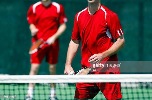 Men's Doubles Tennis