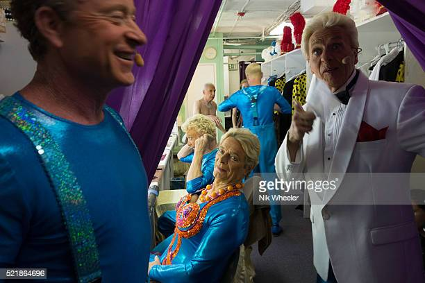 men's dressing room backstage at the palm springs follies, california - vaudeville stock pictures, royalty-free photos & images