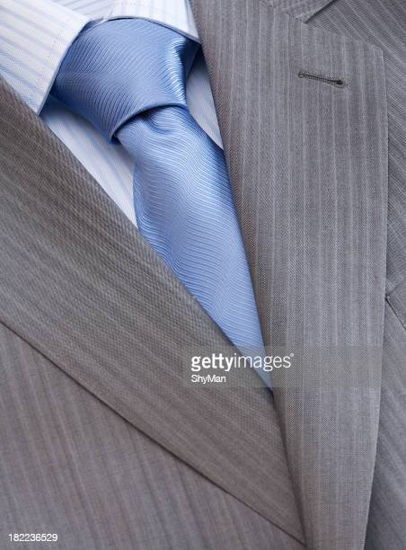 Men's fashion - shirt, tie and jacket