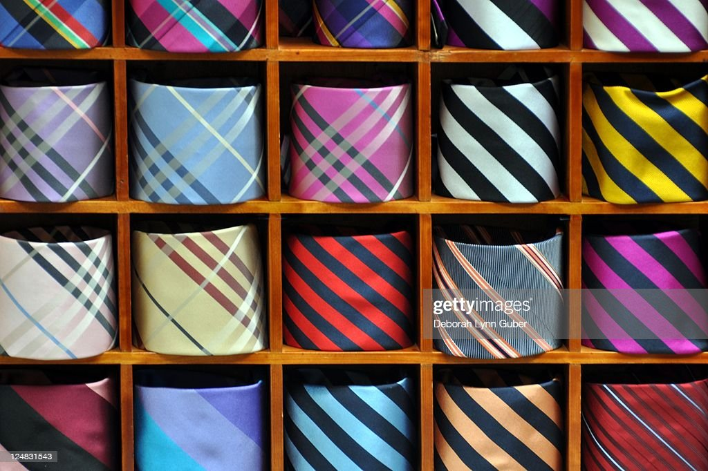 Mens Neckties : Stock Photo
