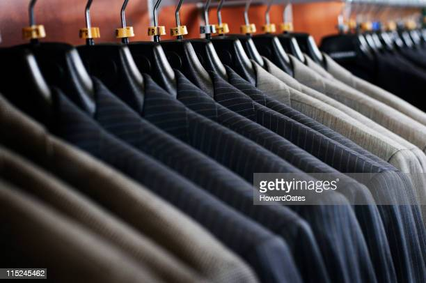 mens pinstripe business suits