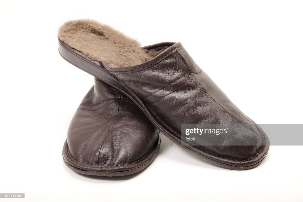 Men's Slippers : Stockfoto