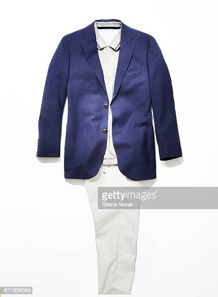 mens sportcoat and slacks - blazer jacket stock pictures, royalty-free photos & images
