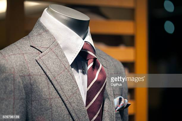 Men's suit on torso