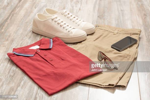 men's summer clothes - menswear stock pictures, royalty-free photos & images