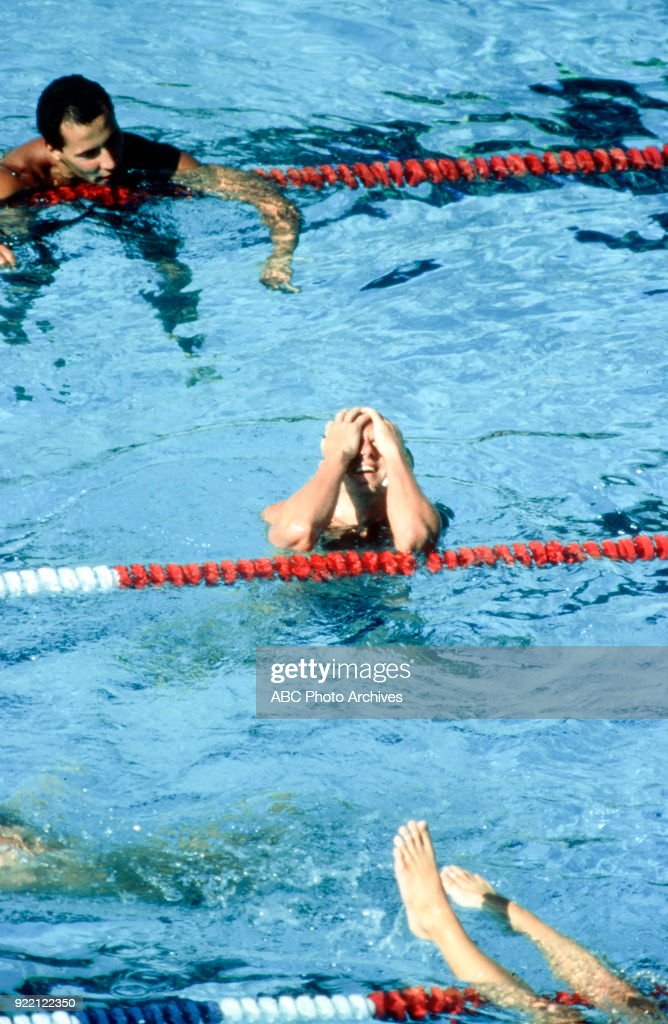 Men's Swimming Competition At The 1984 Summer Olympics : News Photo