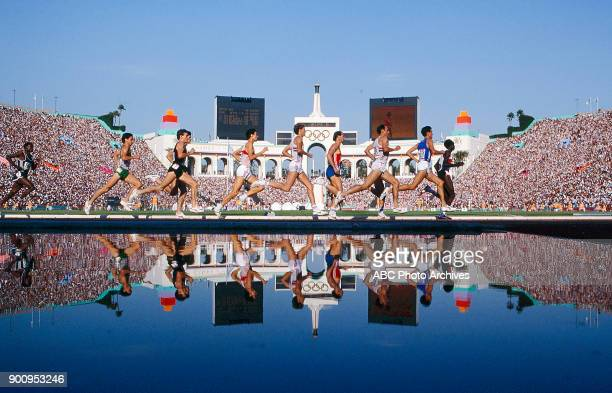 Men's Track 1500 metres competition Memorial Coliseum at the 1984 Summer Olympics August 11 1984