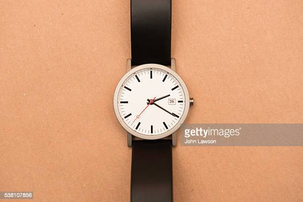 men's watch - strap stock pictures, royalty-free photos & images