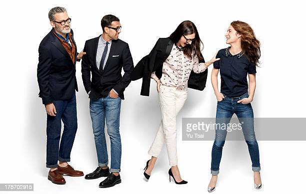 Men's Wear Head Frank Muytjens Woman's Head Tom Mora President and Creative Director Jenna Lyons and Mechandising cheif Libby Wadle of JCrew fashion...