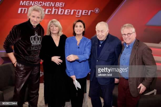 Menschen bei Maischberger Das Quartett der Querdenker Gäste bei Sandra Maischberger sind Thomas Gottschalk Alice Schwarzer Daniel CohnBendit und...
